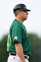Erie Seawolves Manager Phil Nevin during a game vs. the Trenton Thunder at Jerry Uht Park in Erie, Pennsylvania;  June 23, 2010.   Trenton defeated Erie 12-7  Photo By Mike Janes/Four Seam Images