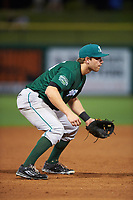 Daytona Tortugas third baseman Taylor Sparks (25) during a game against the Clearwater Threshers on April 19, 2016 at Bright House Field in Clearwater, Florida.  Clearwater defeated Daytona 4-1.  (Mike Janes/Four Seam Images)