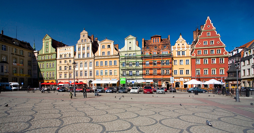 Wrocław, 2007-05-01. Plac Solny