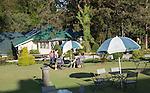 Garden of British colonial period Hill Club, Nuwara Eliya, Sri Lanka, Asia