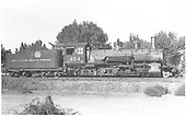 Right side view of K-27 #454.<br /> D&amp;RGW  Montrose ?, CO
