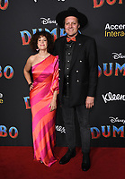11 March 2019 - Hollywood, California - Regine Chassagne, Win Butler. &quot;Dumbo&quot; Los Angeles Premiere held at Ray Dolby Ballroom. Photo <br /> CAP/ADM/BT<br /> &copy;BT/ADM/Capital Pictures