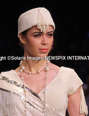"""Mumbai, India-06/03/2012: LAKME FASHION WEEK.Creation from designer Payal Kapoor at the LFW Summer/Resort 2012 fashion collection, during Lakme Fashion Week 2012 in Mumbai, India..Mandatory Photo Credit: ©Ramesh Nair-Solaris Images/NEWSPIX INTERNATIONAL..**ALL FEES PAYABLE TO: """"NEWSPIX INTERNATIONAL""""**..PHOTO CREDIT MANDATORY!!: NEWSPIX INTERNATIONAL(Failure to credit will incur a surcharge of 100% of reproduction fees)..IMMEDIATE CONFIRMATION OF USAGE REQUIRED:.Newspix International, 31 Chinnery Hill, Bishop's Stortford, ENGLAND CM23 3PS.Tel:+441279 324672  ; Fax: +441279656877.Mobile:  0777568 1153.e-mail: info@newspixinternational.co.uk"""