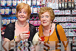 Pictured at the Friday Night Live with Amanda Brunker event in CH Chemist on Friday night, from left: Helen Walters (UK) and Alice Tiernan (Tralee)..