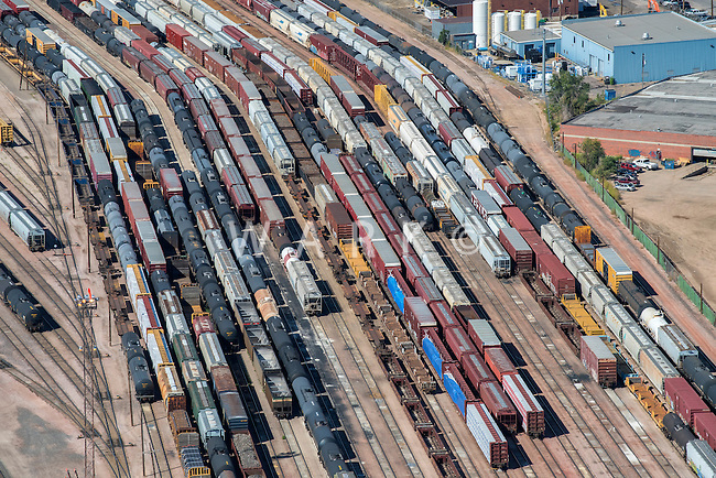 Denver Intermodal Facility, train yard. Aug 20, 2014. 812844