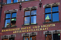 HHLA: EUROPA, DEUTSCHLAND, HAMBURG, (EUROPE, GERMANY), 26.03.2007: Aktiengesellschaft, aussen, Aussenansicht, Aussenaufnahme, color, economy, exterior view, Firmengebaeude, Firmenzentrale, Gebaeude, Hafen- und Logistik AG, Hamburger Hafen und Logistik Aktiengesellschaft, Hauptsitz, HHLA, landscape format, Querformat, Wirtschaft, Zentrale, Aufwind-Luftbilder.c o p y r i g h t : A U F W I N D - L U F T B I L D E R . de.G e r t r u d - B a e u m e r - S t i e g 1 0 2, .2 1 0 3 5 H a m b u r g , G e r m a n y.P h o n e + 4 9 (0) 1 7 1 - 6 8 6 6 0 6 9 .E m a i l H w e i 1 @ a o l . c o m.w w w . a u f w i n d - l u f t b i l d e r . d e.K o n t o : P o s t b a n k H a m b u r g .B l z : 2 0 0 1 0 0 2 0 .K o n t o : 5 8 3 6 5 7 2 0 9.C o p y r i g h t n u r f u e r j o u r n a l i s t i s c h Z w e c k e, keine P e r s o e n l i c h ke i t s r e c h t e v o r h a n d e n, V e r o e f f e n t l i c h u n g  n u r  m i t  H o n o r a r  n a c h M F M, N a m e n s n e n n u n g  u n d B e l e g e x e m p l a r !.