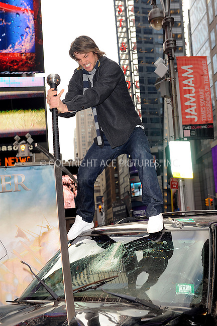 WWW.ACEPIXS.COM . . . . . ....Novemeber 5 2009, New York City....Actor Craig Horner at the 'Legend of The Seeker, The Sword of Truth' unveiling at Military Island, Times Square on November 5, 2009 in New York City.....Please byline: KRISTIN CALLAHAN - ACEPIXS.COM.. . . . . . ..Ace Pictures, Inc:  ..tel: (212) 243 8787 or (646) 769 0430..e-mail: info@acepixs.com..web: http://www.acepixs.com