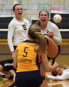 Lake Orion at Clarkston, Varsity Volleyball, 10/18/12
