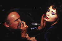 Blue Velvet (1986) <br /> Isabella Rossellini &amp; Dennis Hopper<br /> *Filmstill - Editorial Use Only*<br /> CAP/KFS<br /> Image supplied by Capital Pictures