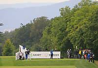 Ricardo Gonzalez (ARG) on the 5th tee during Round 3 of the D+D Real Czech Masters at the Albatross Golf Resort, Prague, Czech Rep. 02/09/2017<br /> Picture: Golffile | Thos Caffrey<br /> <br /> <br /> All photo usage must carry mandatory copyright credit     (&copy; Golffile | Thos Caffrey)