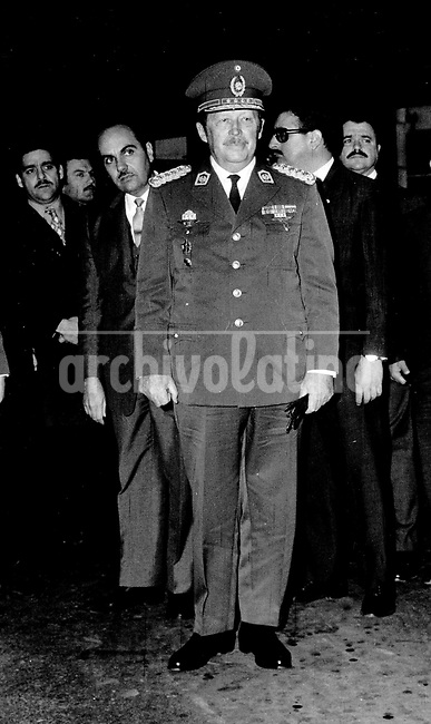 Alfredo Stroessner, dictador paraguayo desde 1954 hasta 1989.+historica *Alfredo Stroessner, dictator of Paraguayo from  1954 to 1989 +historic
