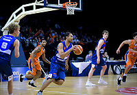 Mika Vukona (Giants) in action during the national basketball league semifinal match between Nelson Giants and Southland Sharks at TSB Bank Arena in Wellington, New Zealand on Saturday, 4 August 2018. Photo: Dave Lintott / lintottphoto.co.nz
