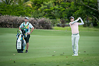 Dylan Frittelli (RSA) during the 3rd round of the AfrAsia Bank Mauritius Open, Four Seasons Golf Club Mauritius at Anahita, Beau Champ, Mauritius. 01/12/2018<br /> Picture: Golffile | Mark Sampson<br /> <br /> <br /> All photo usage must carry mandatory copyright credit (&copy; Golffile | Mark Sampson)