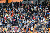 Grimsby Town supporters during the Sky Bet League 2 match between Barnet and Grimsby Town at The Hive, London, England on 29 April 2017. Photo by David Horn.
