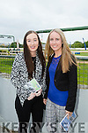 l-r  Rachel Edgar and Shirley Edgar from Farranfore  at the Kerry GAA Night of Champions at the Kingdom Greyhound Stadium on Friday