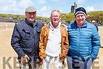 Enjoying the Ballybunion races on Saturday.<br /> L to r: TJ O'Flaherty (Ballybunion), Michael Sugrue (Ballybunion) and Rory Mehihan Ballybunion).
