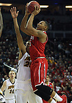 Davidson Iowa during 2015 NCAA Division I Men's Basketball Championship March 20, 2015 at the Key Arena in Seattle, Washington.  Iowa beat Davidson 83-52.   ©2015. Jim Bryant Photo. ALL RIGHTS RESERVED.