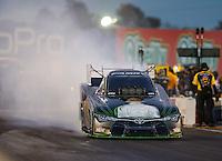 Jul 29, 2016; Sonoma, CA, USA; NHRA funny car driver Alexis DeJoria during qualifying for the Sonoma Nationals at Sonoma Raceway. Mandatory Credit: Mark J. Rebilas-USA TODAY Sports