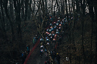 dark woods<br /> <br /> U23 Men's race<br /> UCI CX World Cup Namur / Belgium 2017