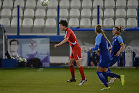 20190304 - LARNACA , CYPRUS : illustration picture during a women's soccer game between Finland and Korea DPR , on Monday 4 March 2019 at the Antonis Papadopoulos Stadium in Larnaca , Cyprus . This is the third game in group A for Both teams during the Cyprus Womens Cup 2019 , a prestigious women soccer tournament as a preparation on the Uefa Women's Euro 2021 qualification duels. PHOTO SPORTPIX.BE | STIJN AUDOOREN