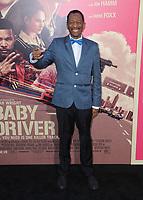 "14 June 2017 - Los Angeles, California - CJ Jones. Los Angeles Premiere of ""Baby Driver"" held at the Ace Hotel Downtown in Los Angeles. Photo Credit: Birdie Thompson/AdMedia"
