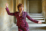 Kathy Lette at Blenheim Palace during the Woodstock Literary Festival, Woodstock, Oxfordshire, UK. 17 September 2010. Photograph copyright Graham Harrison.