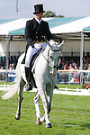 Richard Jones during day 2 of the dressage phase at the 2012 Land Rover Burghley Horse Trials in Stamford, Lincolnshire,UK.