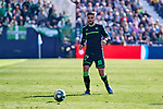 Antonio Barragain of Betis Balompie during La Liga match between CD Leganes and Real Betis Balompie at Butarque Stadium in Leganes, Spain. February 16, 2020. (ALTERPHOTOS/A. Perez Meca)