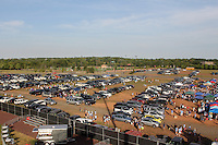 Piscataway, NJ - Saturday Aug. 27, 2016: Full parking lot prior to a regular season National Women's Soccer League (NWSL) match between Sky Blue FC and the Chicago Red Stars at Yurcak Field.