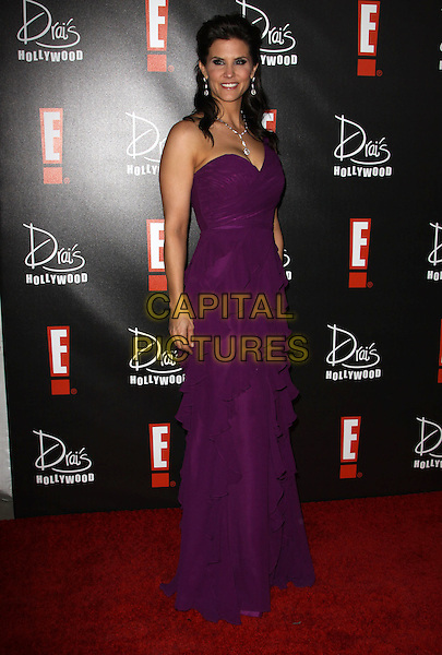LU PARKER .E! Oscar Viewing And After Party held At Drai's at The W Hotel, Hollywood, California, USA..March 7th, 2010.full length purple strapless maxi dress.CAP/ADM/KB.©Kevan Brooks/AdMedia/Capital Pictures.