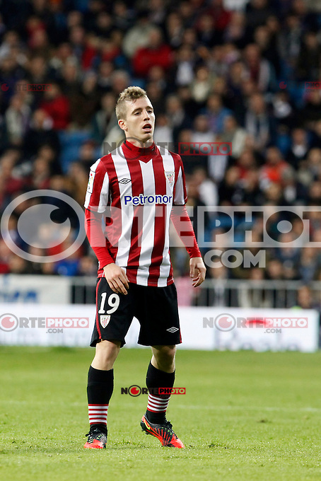 Real Madrid CF vs Athletic Club de Bilbao (5-1) at Santiago Bernabeu stadium. The picture shows Iker Muniain. November 17, 2012. (ALTERPHOTOS/Caro Marin) NortePhoto
