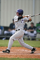 February 22, 2009:  Infielder Kenneth (Ken, Kenny) Avila (1) of Northwestern University during the Big East-Big Ten Challenge at Naimoli Complex in St. Petersburg, FL.  Photo by:  Mike Janes/Four Seam Images