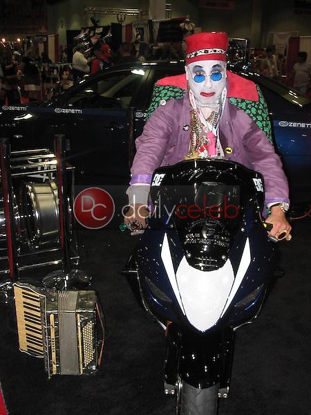 Count Smokula on motorcycle<br /> At the 2005 Erotica LA Convention Day 2, Los Angeles Convention Center, Los Angeles, CA 06-12-05<br /> David Edwards/DailyCeleb.com 818-249-4998