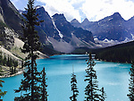 WALLY BAUMAN PHOTOGRAPHY Moraine Lake and the Valley of the Ten Peaks in Banff National Park, Banff National Park, Alberta.