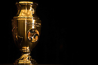 New York, NY - Friday June 24, 2016: Copa America Centenario trophy during a press conference prior to the final of the Copa America Centenario at The Westin New York at Times Square.<br /> <br /> Photo during American Cup USA 2016 Press Conference.<br /> <br /> Foto durante la Conferencia de Prensa de la Copa America Centenario USA 2016, enla foto: Trofeo<br /> <br /> ---24/06/2016/MEXSPORT/ Omar Martinez.
