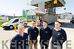 Staff at Kingdom Oil at Rathass,Tralee, from left: Kieran O'Keeffe, Manager, George O'Keeffe, Paudie O'Keeffe and DJ Flemming.