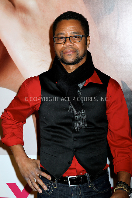 "WWW.ACEPIXS.COM . . . . .  ....April 18 2012, New York City....Cuba Gooding Jr arriving at the premiere of ""The Five Year Engagement"" for the opening of the Tribeca Film Festival at the Ziegfeld Theatre on April 18, 2012 in New York City ....Please byline: NANCY RIVERA- ACEPIXS.COM.... *** ***..Ace Pictures, Inc:  ..Tel: 646 769 0430..e-mail: info@acepixs.com..web: http://www.acepixs.com"