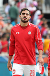 26 March 2016: Toluca's Marco Jaime. The Carolina RailHawks of the North American Soccer League hosted Deportivo Toluca Futbol Club of LigaMX at WakeMed Stadium in Cary, North Carolina in an international friendly club soccer match. Toluca won the game 3-0.