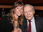 Bridget Klapinski and John Simon attend The New York Drama Critics' Circle Awards at 54 Below on May 19, 2015 in New York City.
