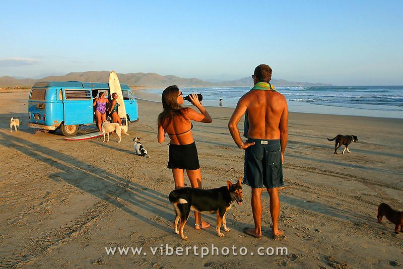 La Basse Californie au Mexique est le paradis des surfeurs !