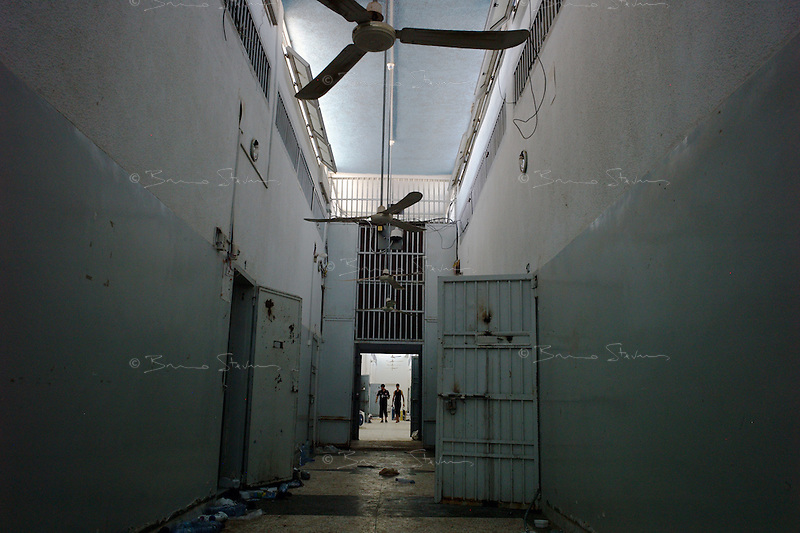 Tripoli, Libya, August 26, 2011.The fall of Khaddafi's regime also meant freedom for thousands of prisoners inside the sinister Abu Salim prison...