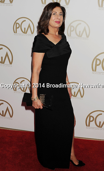 Pictured: Paula Wagner<br /> Mandatory Credit &copy; Joseph Gotfriedy/Broadimage<br /> 25th Annual Producers Guild Awards<br /> <br /> 1/19/14, Beverly Hills, California, United States of America<br /> <br /> Broadimage Newswire<br /> Los Angeles 1+  (310) 301-1027<br /> New York      1+  (646) 827-9134<br /> sales@broadimage.com<br /> http://www.broadimage.com
