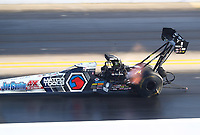 Oct 12, 2019; Concord, NC, USA; NHRA top fuel driver Antron Brown during qualifying for the Carolina Nationals at zMax Dragway. Mandatory Credit: Mark J. Rebilas-USA TODAY Sports