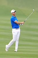 Lucas Bjerregaard (DEN) in action during the final round of the Volvo China Open played at Topwin Golf and Country Club, Huairou, Beijing, China 26-29 April 2018.<br /> 29/04/2018.<br /> Picture: Golffile | Phil Inglis<br /> <br /> <br /> All photo usage must carry mandatory copyright credit (&copy; Golffile | Phil Inglis)