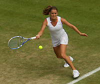 Agnieszka Radwanska (POL) (11) against  Shuai Peng (CHN) in the second round of the ladies singles. Radwanska beat Peng 6-2 6-7 9-7..Tennis - Wimbledon - Day 4 - Thur 25th June 2009 - All England Lawn Tennis Club  - Wimbledon - London - United Kingdom..Frey Images, Barry House, 20-22 Worple Road, London, SW19 4DH.Tel - +44 20 8947 0100.Cell - +44 7843 383 012