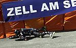 1. Inline Downhill Weltmeisterschaft, Zell am See (Austria) Jean Blondeau (Frankreich), Vollkoerperanzug mit Rollen