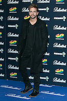 Pablo Alboran attend the 40 Principales Awards at Barclaycard Center in Madrid, Spain. December 12, 2014. (ALTERPHOTOS/Carlos Dafonte) /NortePhoto