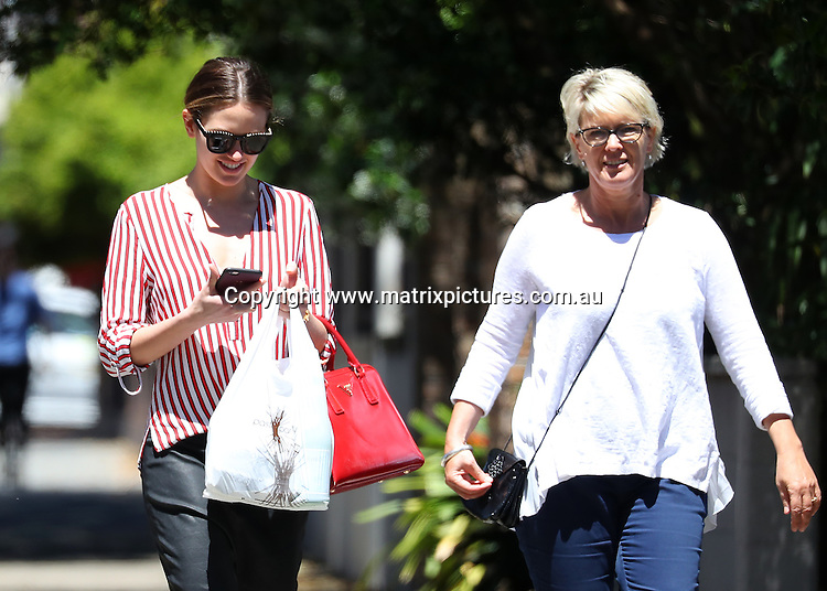 31 OCTOBER 2016 SYDNEY AUSTRALIA<br /> WWW.MATRIXPICTURES.COM.AU<br /> <br /> EXCLUSIVE PICTURES <br /> <br /> Jesinta Campbell pictured with her mother in Rose Bay at a pastry shop. <br /> <br /> *No web without clearance*.<br /> <br /> MUST CALL PRIOR TO USE <br /> <br /> +61 2 9211-1088. <br /> <br /> Note: All editorial images subject to the following: For editorial use only. Additional clearance required for commercial, wireless, internet or promotional use.Images may not be altered or modified. Matrix Media Group makes no representations or warranties regarding names, trademarks or logos appearing in the images.