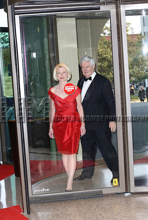 Callista Gingrich & Newt Gingrich   attending the  2013 White House Correspondents' Association Dinner at the Washington Hilton Hotel in Washington, DC on 4/27/2013