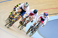 Picture by Charlie Forgham-Bailey/SWpix.com - 06/03/2016 - Cycling - 2016 UCI Track Cycling World Championships, Day 5 - Lee Valley VeloPark, London, England - Jason Kenny of GBR in action in the Mens Keirin First Round Heat 3